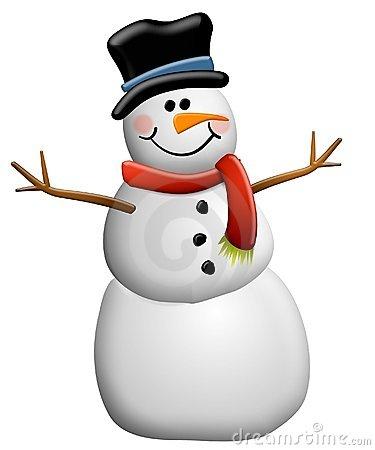 Cute Snowmen Neige Clipart .