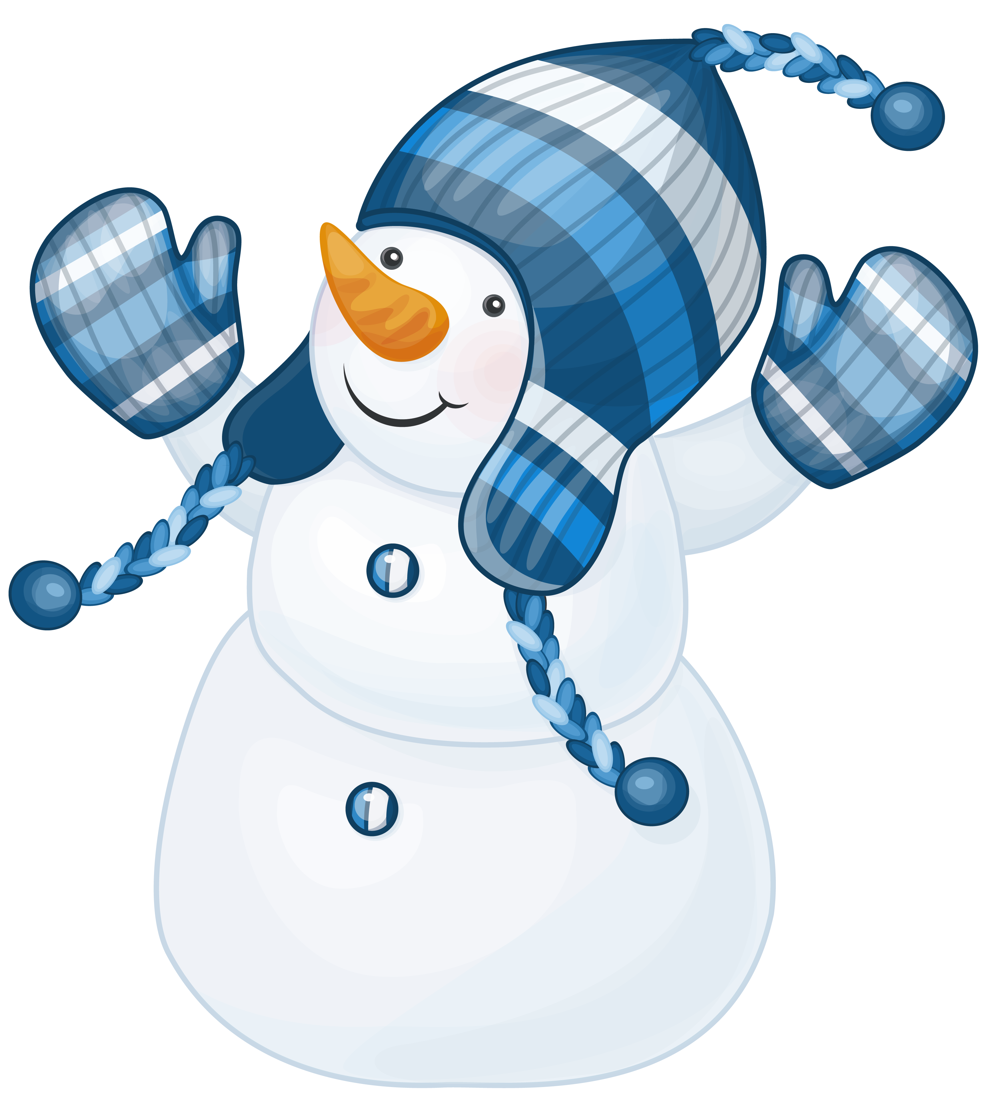 Snowman With Blue Hat Clipart-Snowman With Blue Hat Clipart-16
