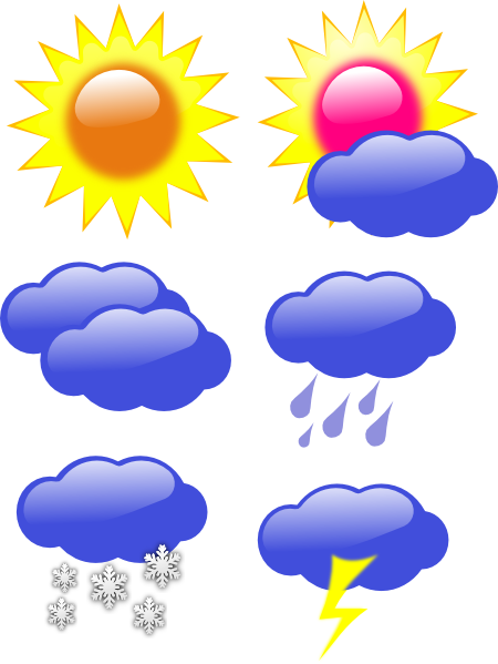 Snowy Weather Clipart Free .-Snowy weather clipart free .-8