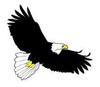 Soaring Eagle Clip Art Free 1