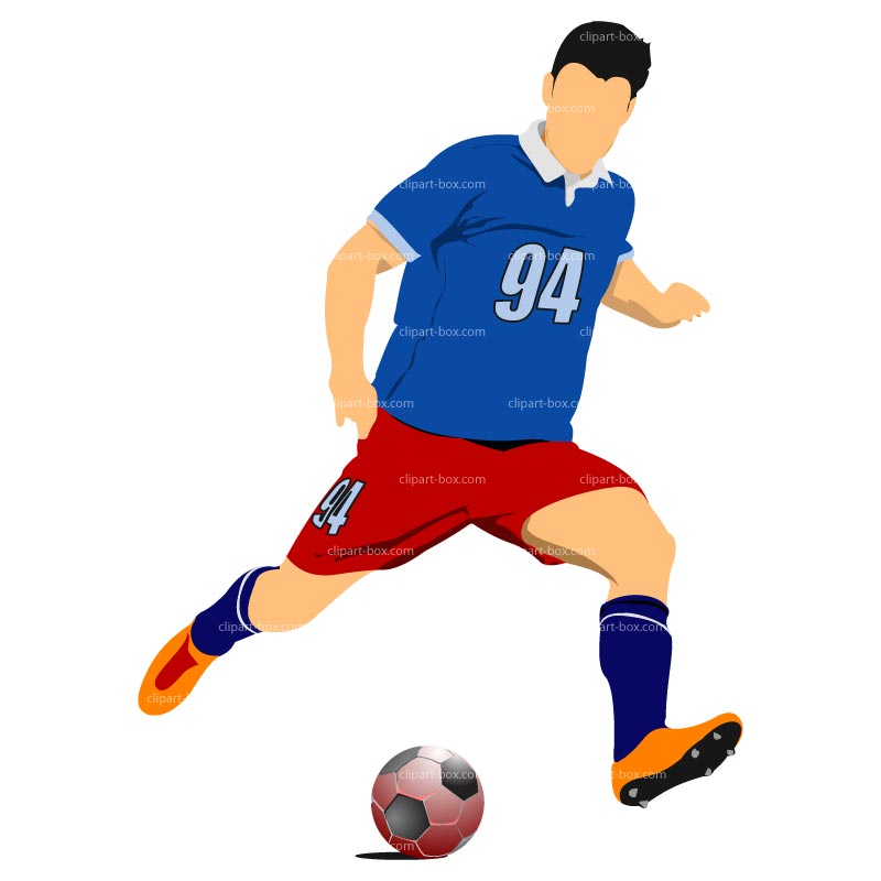 Soccer playing. Clipart player clipartlook