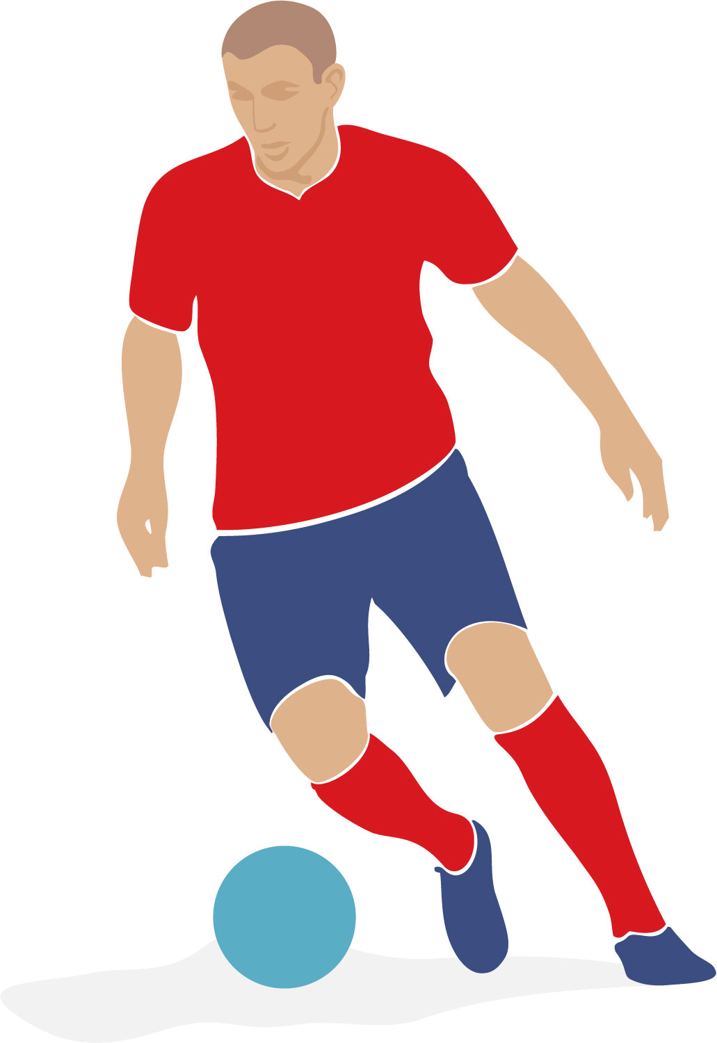 Soccer Player Clipart-soccer player clipart-9