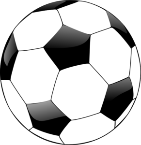 Soccer Ball Clipart Black And ..