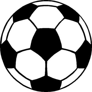 Soccer clip art black and white free clipart images