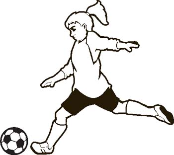Soccer Clip Art Free Clipart Image 4-Soccer clip art free clipart image 4-10