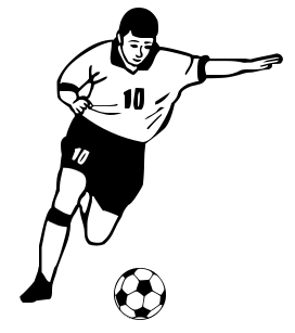 Soccer Clipart Free Clipart Image-Soccer Clipart Free Clipart Image-13