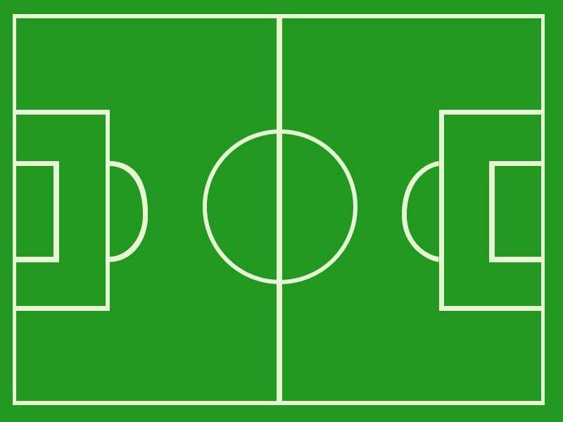 Soccer Field Clipart #1
