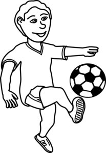 soccer game clipart black .