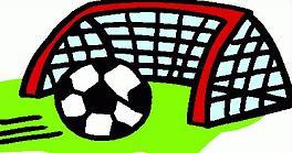 soccer goal and net