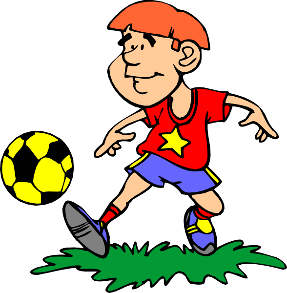 Soccer Player Clip Art At ..