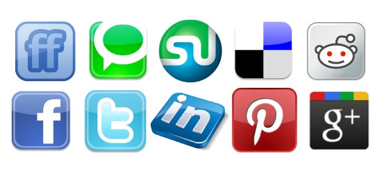 Social Bookmarking Clipart Sign-Social Bookmarking Clipart sign-8
