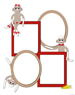 ... Sock Monkey Clip Art Free - ClipArt Best ...