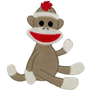 Sock Monkey Clipart Clipart .