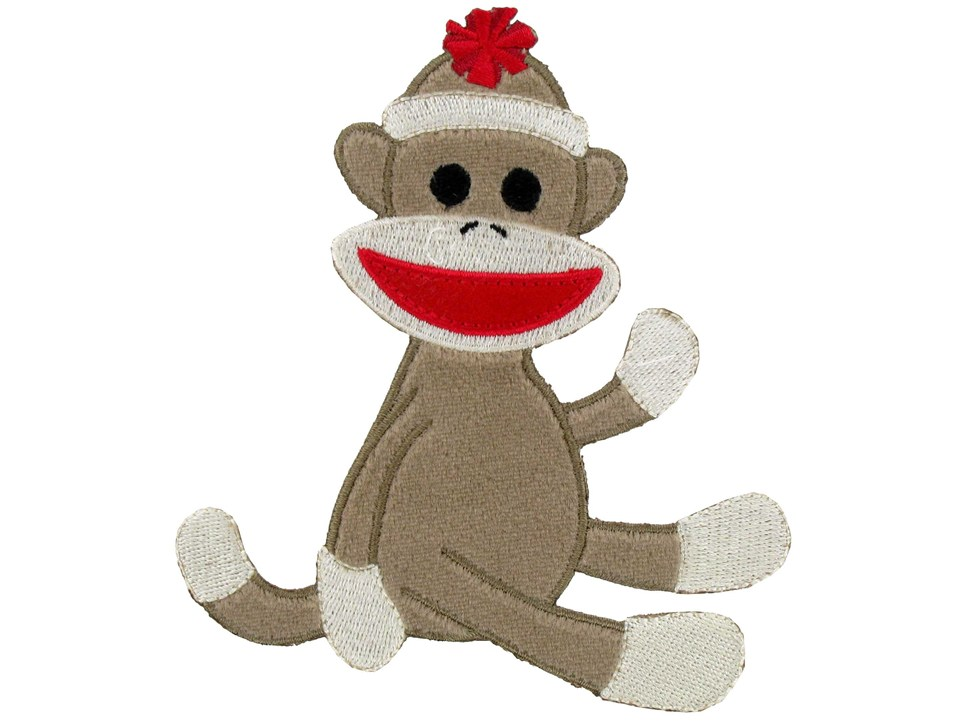 sock monkey clipart image ... Welcome to-sock monkey clipart image ... Welcome to Ms. Lewis-6