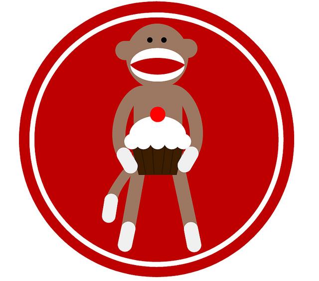 Sock Monkey Face Clip Art ..