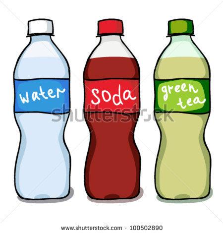 soda bottle clipart