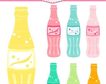 Soda Bottle Clipart Plastic Bottle Clipart Glass Soda Bottle Clipart
