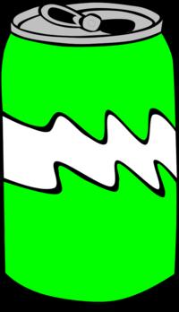 Soda can vector clip art