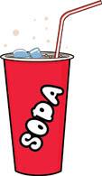 soda-with-ice-straw-2 - Soda Clipart
