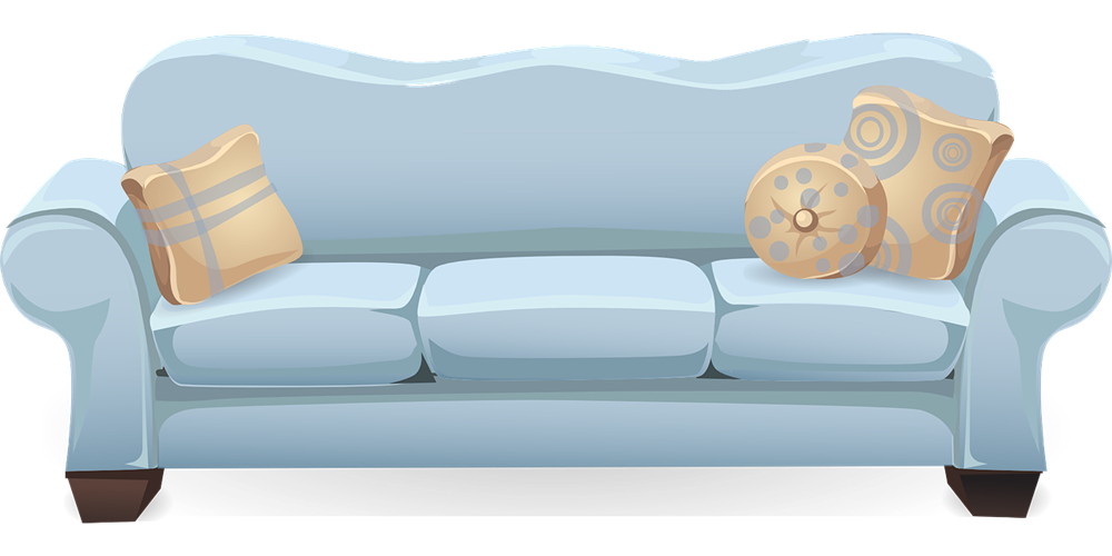 Sofa as a couch pictures clipart kid