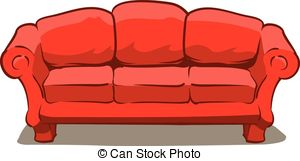sofa clipart 1