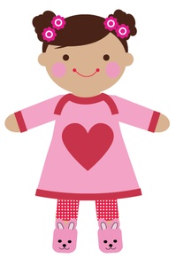 Soft Baby Doll Cute Clipart Graphics Pinterest