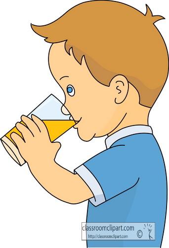 Soft Drinks Clip Art Drinks . glass of orange juice straw .