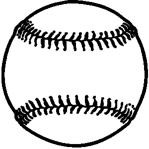 Softball Ball Clipart Free Clipart Image-Softball ball clipart free clipart images 2-9