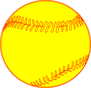 Softball clip art logo free clipart images 4 clipartcow