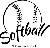 Softball clipart-Softball clipart-3