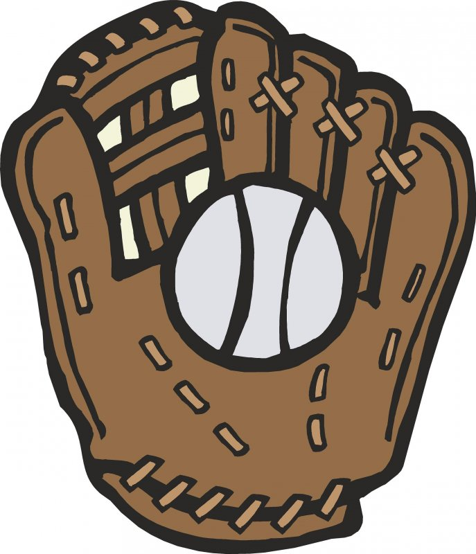 Softball Glove And Ball Clipart Baseball Glove And Ball