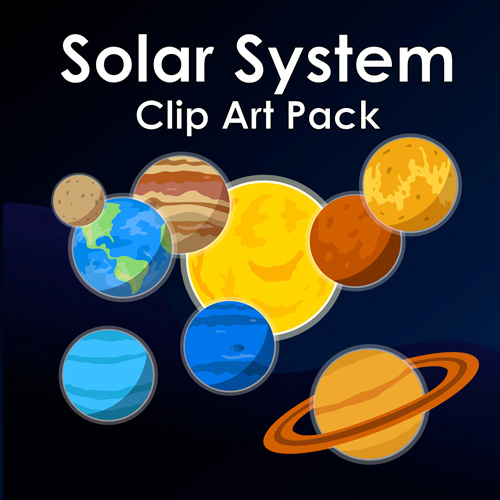 Solar-System-Clip-Art