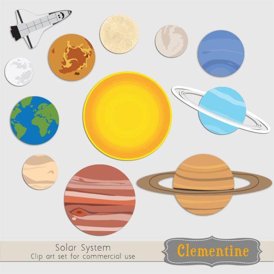 Solar System Clip Art-Solar System Clip Art-6