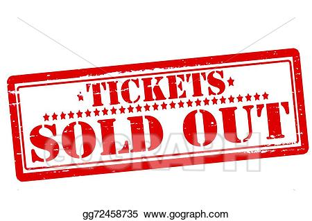Tickets sold out - Sold Out Clipart