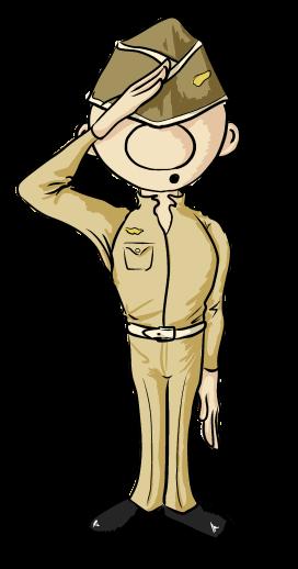 Soldier Clipart By Orianacarthen On Deviantart