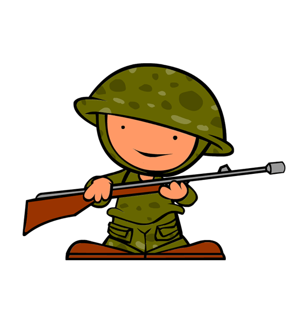 Clipart veterans day soldier