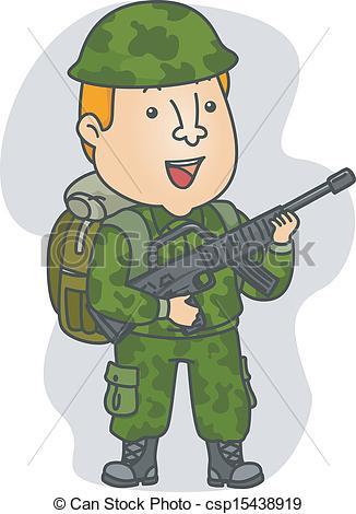 Occupation Soldier - csp15438919