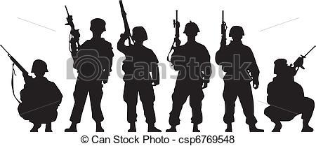 soldier Stock Illustrationby ramonakaulitzki33/3,876; Soldier Silhouette