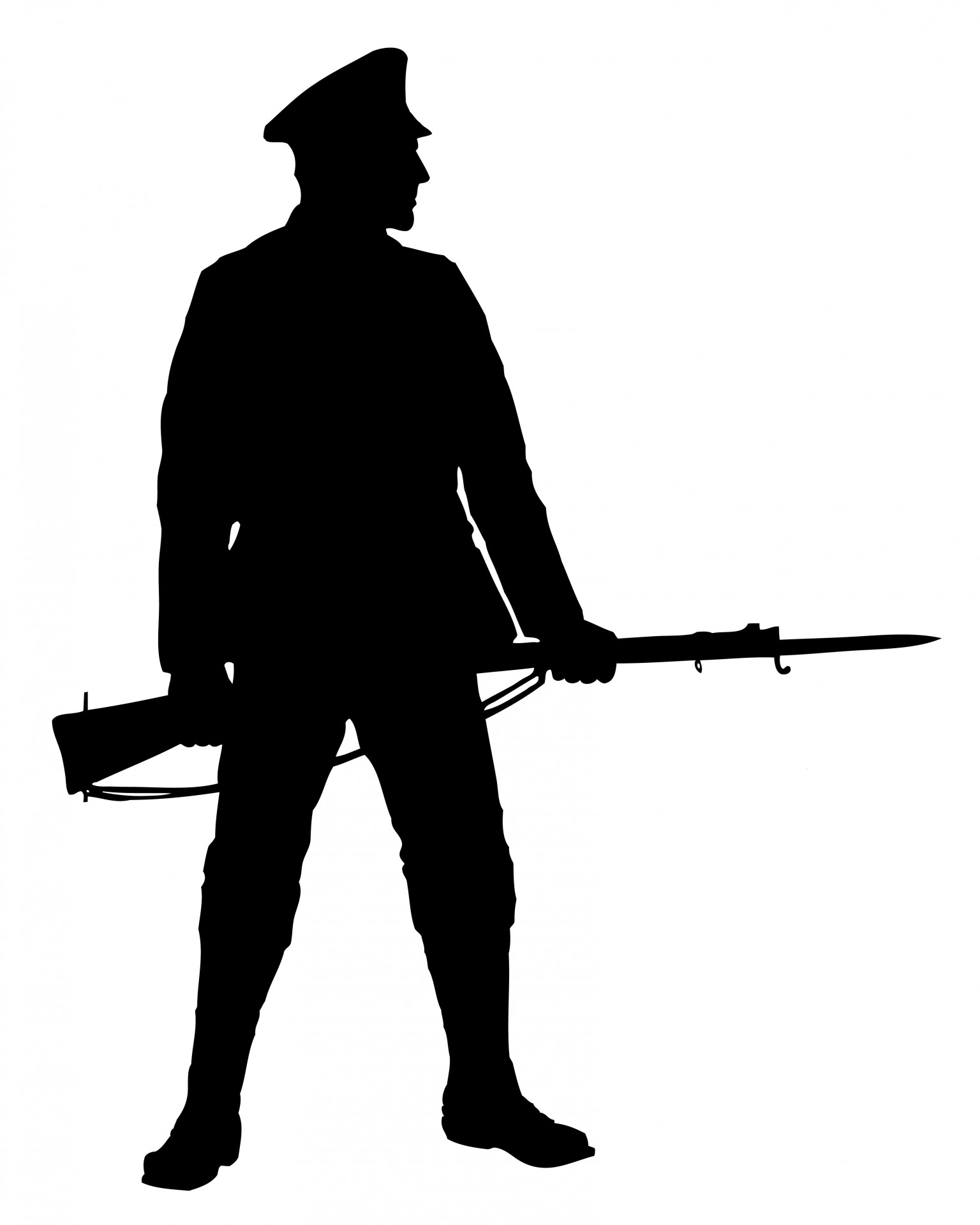 Soldier With Rifle Clipart Free Stock Ph-Soldier With Rifle Clipart Free Stock Photo-13