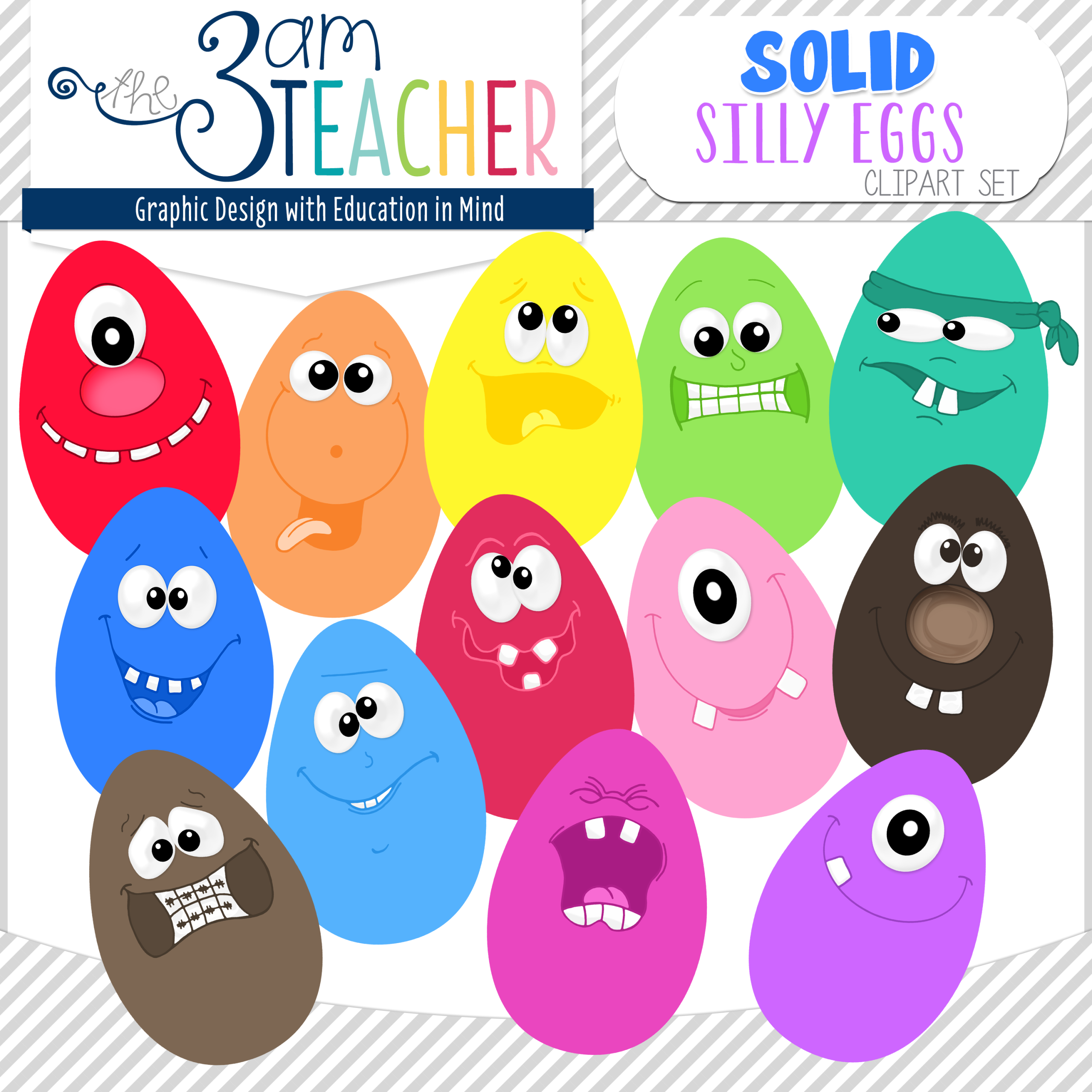 Solid Color Clipart #1