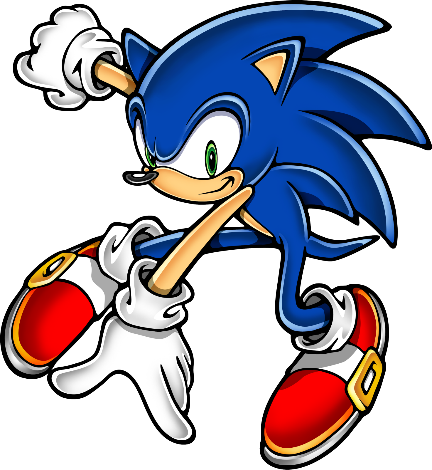 Sonic Art Assets DVD - Sonic The Hedgeho-Sonic Art Assets DVD - Sonic The Hedgehog - 21.png-5