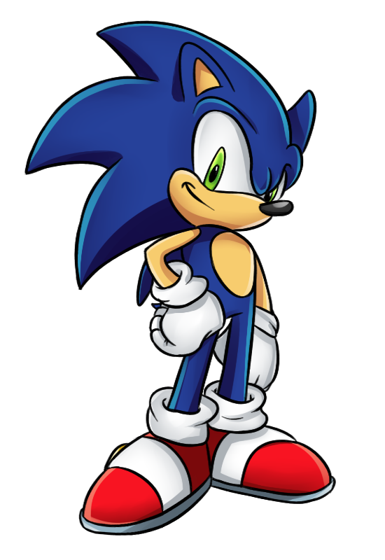 Sonic The Hedgehog By Brimms ClipartLook-Sonic the Hedgehog by Brimms ClipartLook.com -10