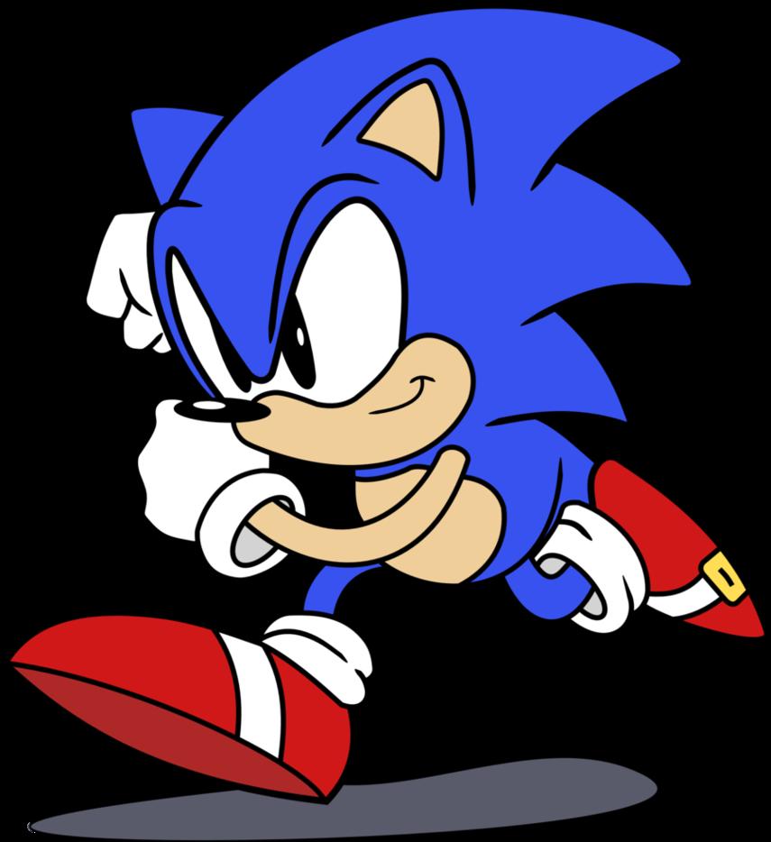 Sonic The Hedgehog Classic By RainDashy -Sonic the Hedgehog Classic by RainDashy ClipartLook.com -11