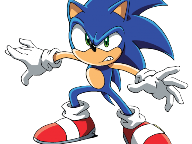 Sonic The Hedgehog Clipart clip art