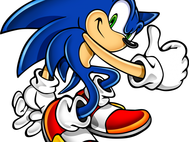 Sonic The Hedgehog Clipart transparent