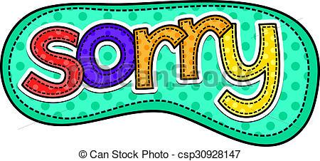 Sorry Doodle Text U0026middot; Sorry Sti-Sorry Doodle Text u0026middot; Sorry Stitch Text ...-17