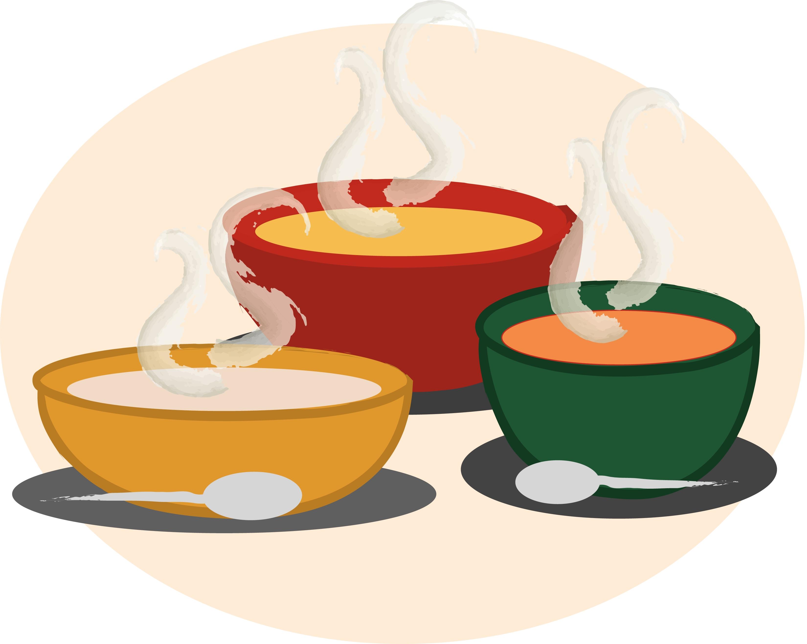 Soup clip art pictures free .