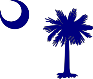 South Carolina Flag Clip Art