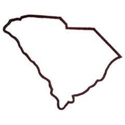 South Carolina Outline Clipart. South Carolina State Outline
