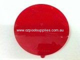 Spa Electrics Wet Niche Clip on Replacement Light/Lense Cover - Red